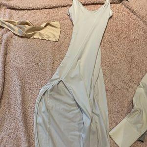 White long dress brand new